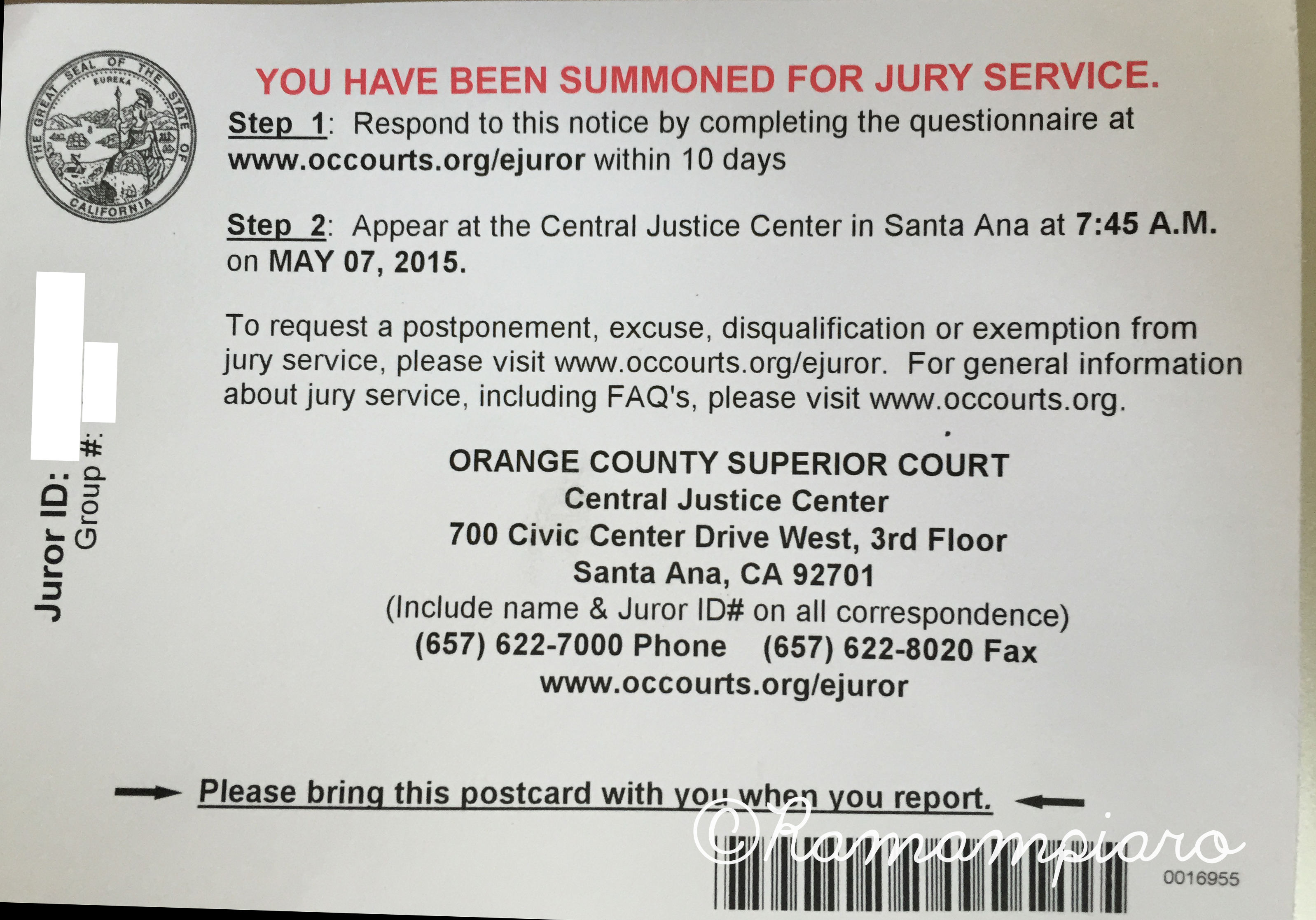 Exemptions for jury duty in california